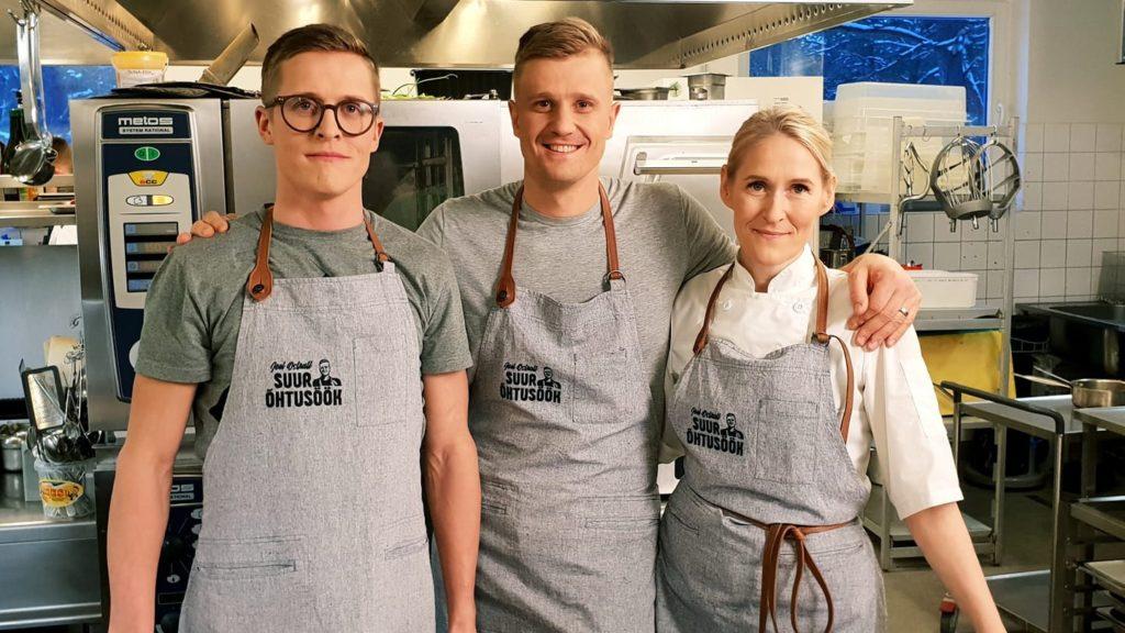 a3fb4d6fc4a Niinemetsal ja Ostratil aitavad hõrgutisi valmistada professionaalsed  kokad. Foto: Facebooki kasutaja